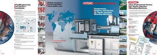 Components, Systems and Service for Plastic Injection Moulding Machines