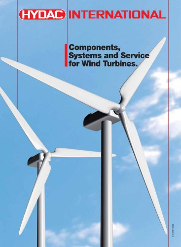 Components, Systems and Service for Wind Turbines