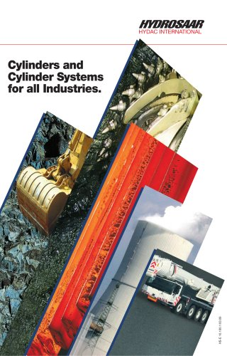 Cylinders and Cylinder Systems for all Industries.