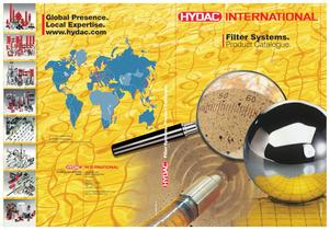 Filter Systems. Product Catalogue - 1