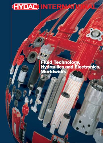 Fluid Technology, Hydraulics and Electronics. Worldwide.
