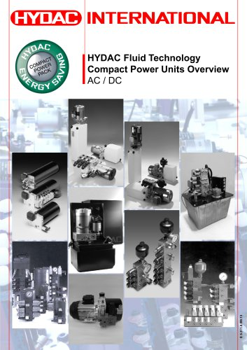 HYDAC Fluid Technology Compact Power Units OverviewAC / DC