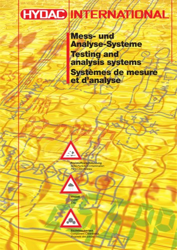 Testing and analysis systems