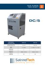 2 SHAFT INDUSTRIAL SHREDDER DC/S SERIES ELECTRIC DRIVE - 1