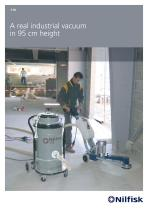 118 - A real industrial vacuum in 95 cm height