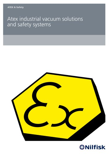 ATEX industrial vacuums and safety systems