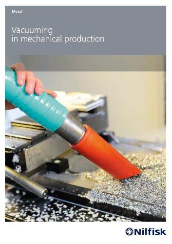 Industrial vacuum solutions for metal industry