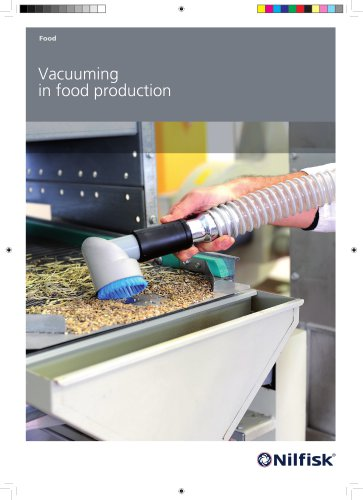Industrial vacuum solutions for the food industry