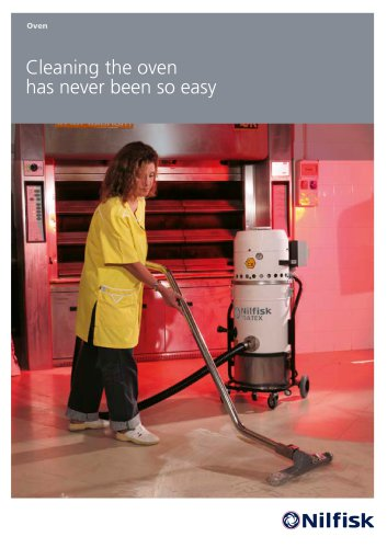 Industrial vacuums for bakeries