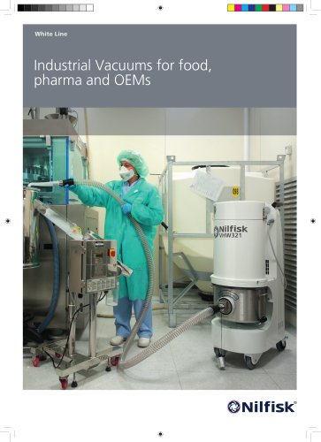 Industrial vacuums for pharma, food and OEMs