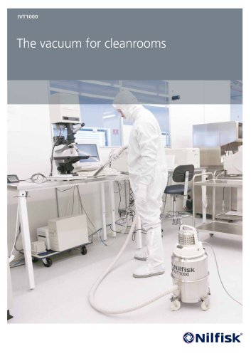 IVT1000 - The vacuum for cleanrooms