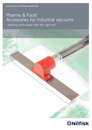 Pharma & Food Accessories for industrial vacuums