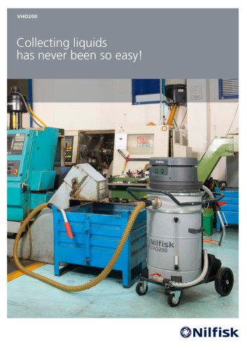 VHO 200, collecting liquids has never been so easy!