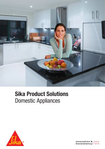 Domestic Appliances - Sika Product Solutions