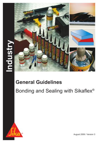 Sikaflex® - General Guidelines