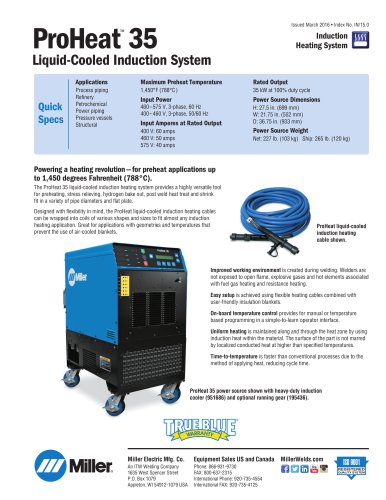 ProHeat™ 35 Liquid-Cooled Induction System