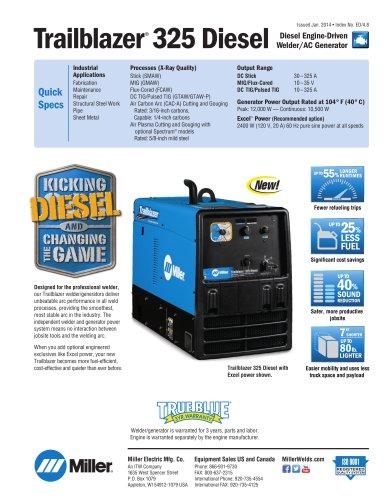Trailblazer® 325 Diesel