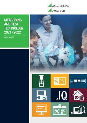Measuring and Test Technology - 2019/20 Main catalogue