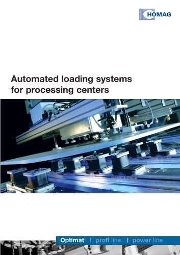 Automated loading systems for processing centers