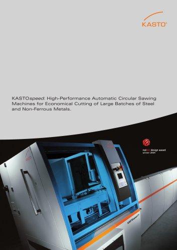 KASTOspeed: High-Performance Automatic Circular Sawing Machines
