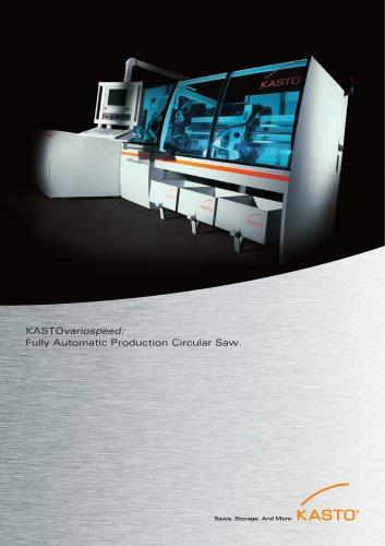 KASTOvariospeed: Fully Automatic Production Circular Saw
