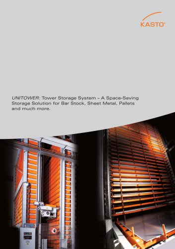 Space Saving Tower Storage System UNITOWER