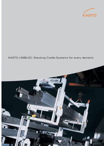 Stacking Cradle System for Bar Stock and Sheet Metal