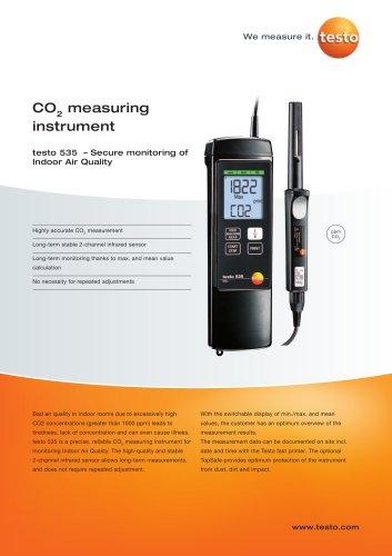 CO2 measuring instrument - testo 535