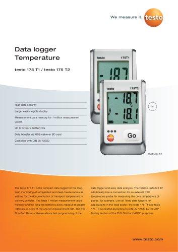 Data logger Temperature - testo 175 T1 / testo 175 T2