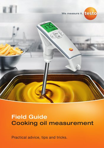 Field guide Cooking oil measurement