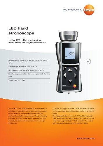LED hand stroboscope - testo 477