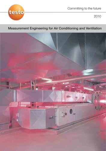 Measurement Engineering for Air Conditioning and Ventilation