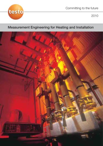 Measurement Engineering for Heating and Installation