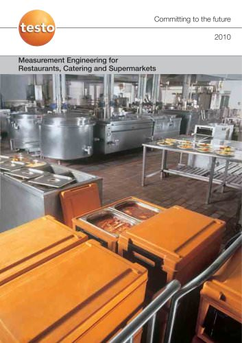 Measurement Engineering for Restaurants, Catering and Supermarkets