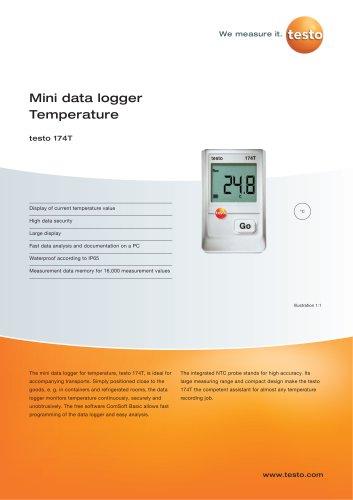 Mini data logger Temperature - testo 174T
