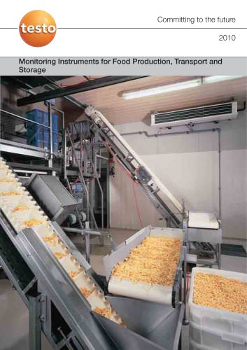 Monitoring Instruments for Food Production, Transport and Storage