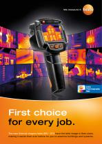 The new thermal imagers testo 865 – 872