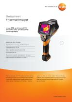 testo 875 and testo 875i - the entry into professional thermography