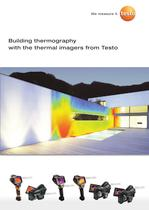 Testo thermal imagers in building thermography
