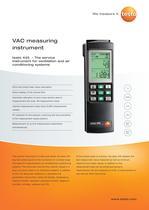 VAC measuring instrument - testo 445
