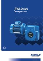 jPM Series Wormgear Unit