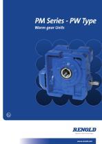PM Series PW Type Wormgear Unit