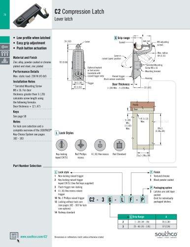 C2 Compression Latch
