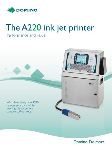 The A220 ink jet printer