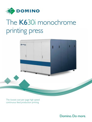 The K630i monochrome printing press