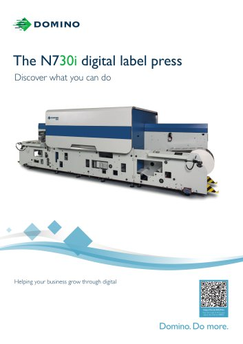 The N730i digital label press
