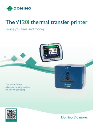 The V120i thermal transfer printer