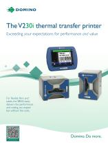 The V230i thermal transfer printer