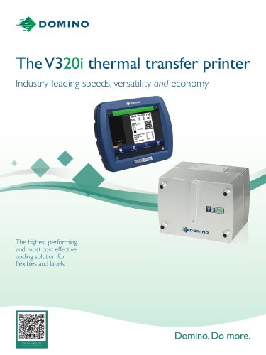 The V320i thermal transfer printer