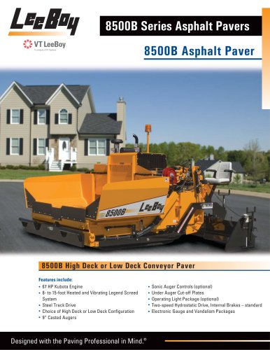 8500B Conveyor Paver